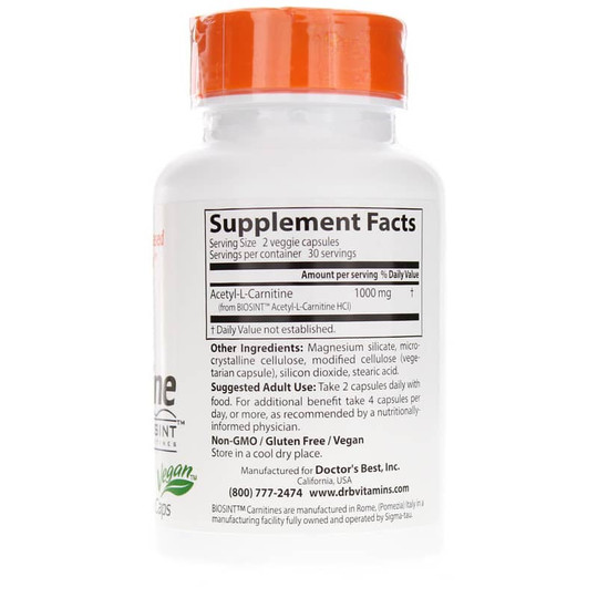 Acetyl-L-Carnitine 588 Mg