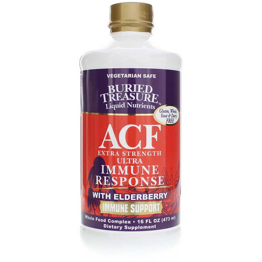 ACF Extra Strength Ultra Immune Response with Elderberry