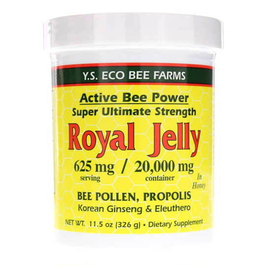 Active Bee Power Royal Jelly with Bee Pollen & Propolis