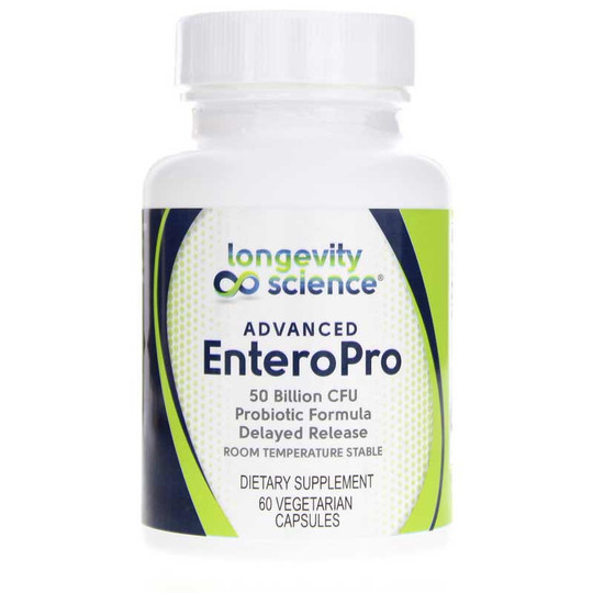Advanced EnteroPro Probiotic 50 Billion CFU
