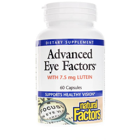 Advanced Eye Factors with 7.5 Mg Lutein