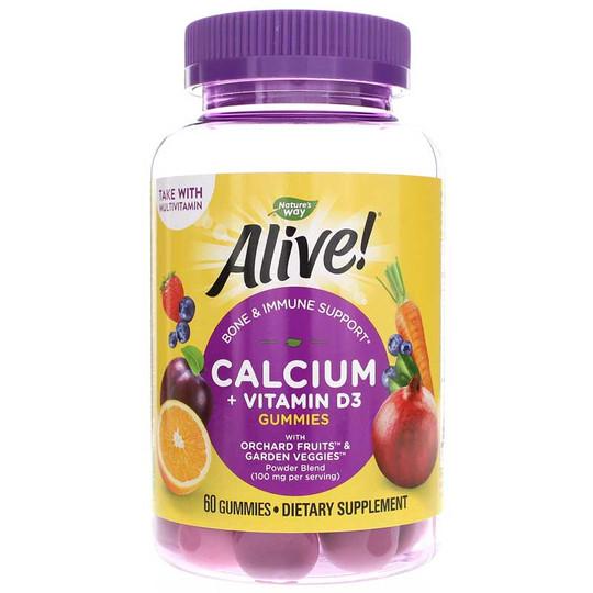 Alive Calcium + D3 Gummies