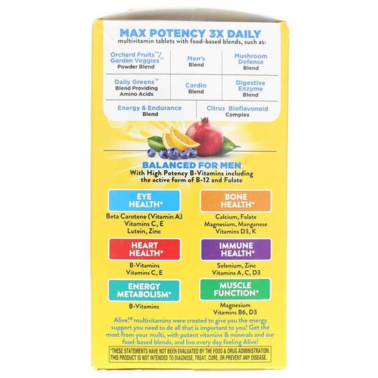 Alive Max3 Daily Men's Energizer Multi