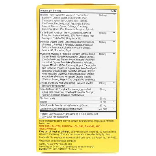 Alive Max6 Daily Multi-Vitamin No Iron Added