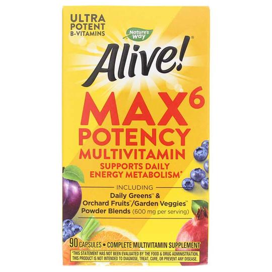 Alive Max6 Daily Multi-Vitamin