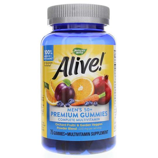 Alive Men's 50+ Gummy Vitamins