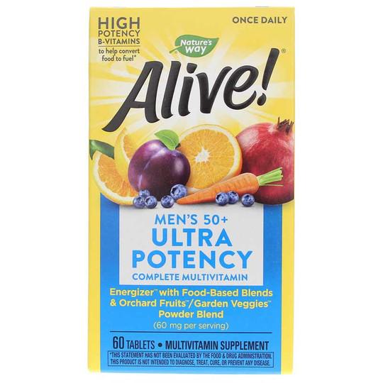 Alive Once Daily Men's 50+ Ultra Potency Multi