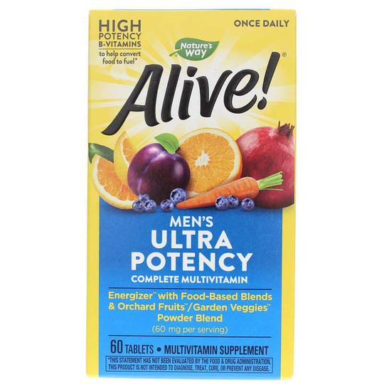 Alive Once Daily Men's Ultra Potency Multi