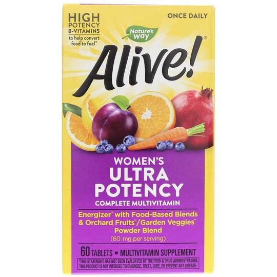 Alive Once Daily Women's Ultra Potency Multi