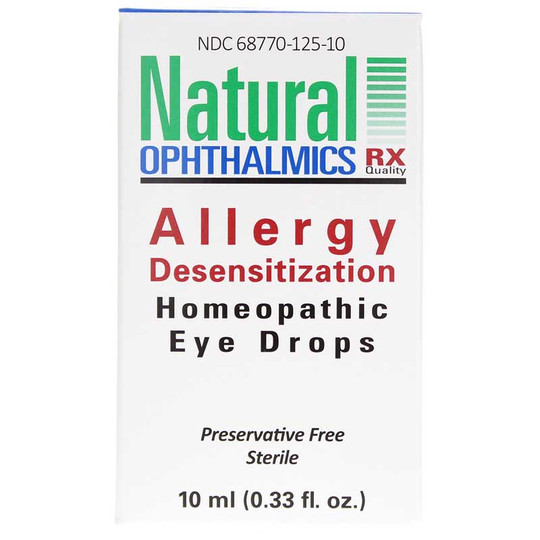 Allergy Desensitization Homeopathic Eye Drops