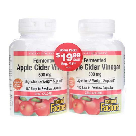 Apple Cider Vinegar 500 Mg Bonus Pack