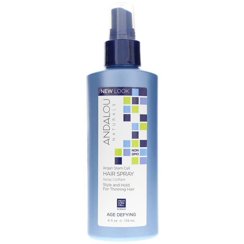 Argan stem cell hair spray age defying formula adn main%2c1