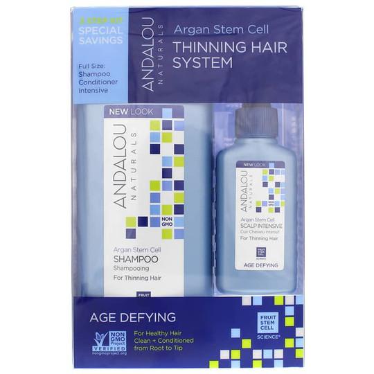 Argan Stem Cell Thinning Hair System, Age Defying Formula