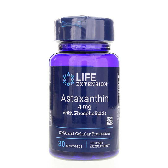 Astaxanthin 4 Mg with Phospholipids