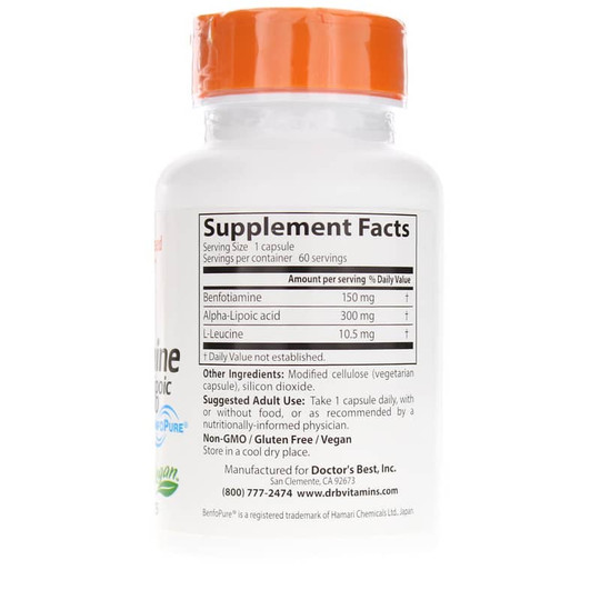 Benfotiamine 150 + Alpha Lipoic Acid