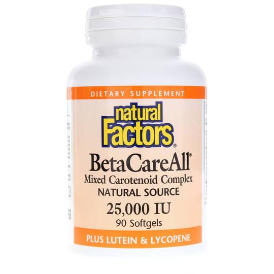 BetaCareAll Mixed Carotenoid Complex 25000 IU
