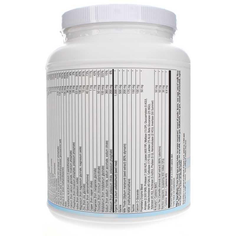 BioCleanse Plus Powder in Natural Vanilla Flavor