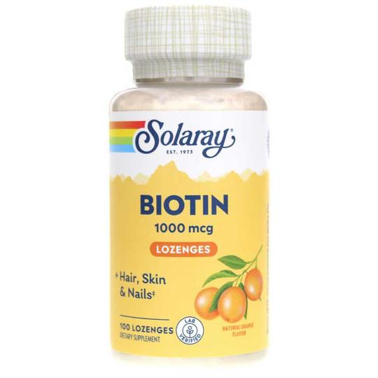 Biotin 1000 Mcg with Natural Orange Flavor