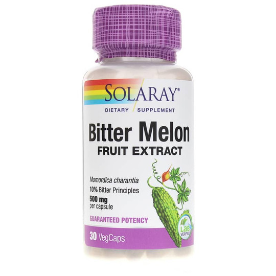 Bitter Melon Fruit Extract 500 Mg 10%