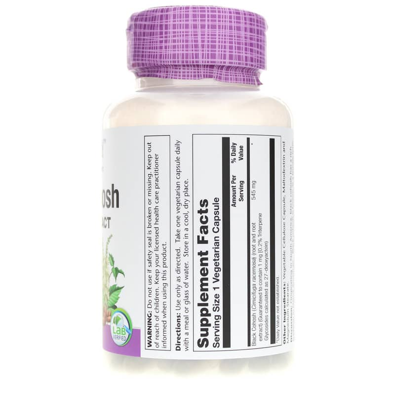 Black Cohosh Root & Extract 545 Mg