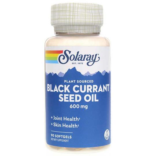Black Currant Seed Oil 600 Mg