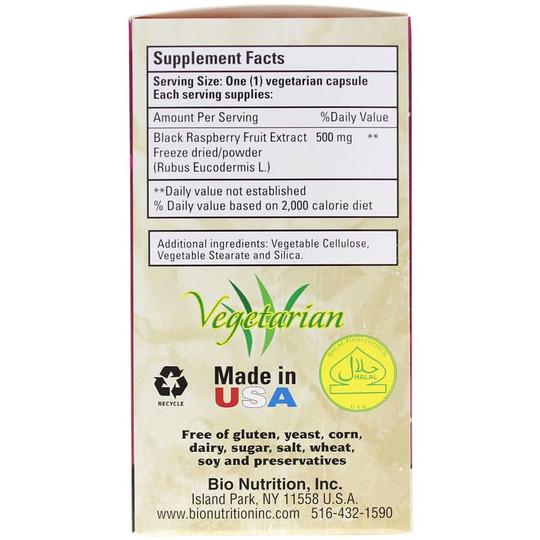 Black Raspberry Fruit Extract