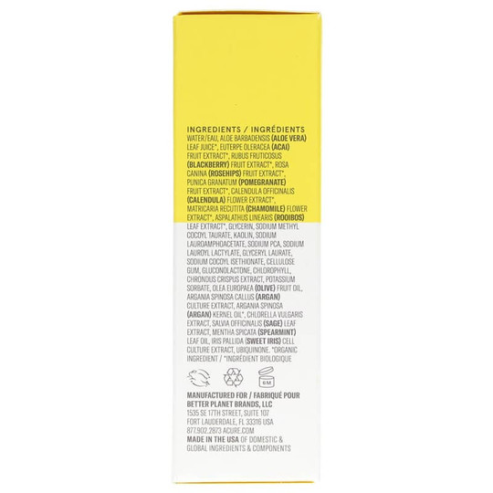 Brilliantly Brightening Face Mask, Acure Organics