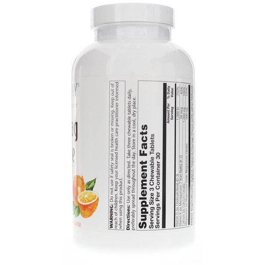 Cal-Mag Citrate Chewable 2:1 Ratio plus Vitamins D-3 & K-2 Orange