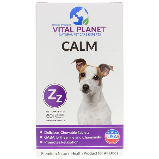 Calm for Dogs Chewable Tablets