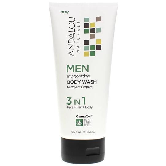 CannaCell Men Invigorating Body Wash 3-in-1