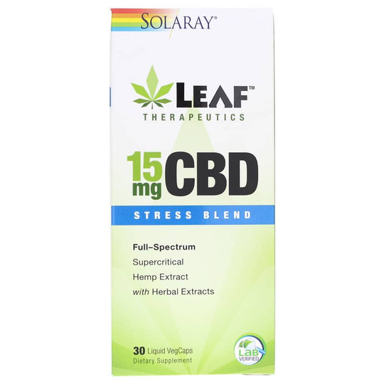 CBD 15 Mg Stress Blend