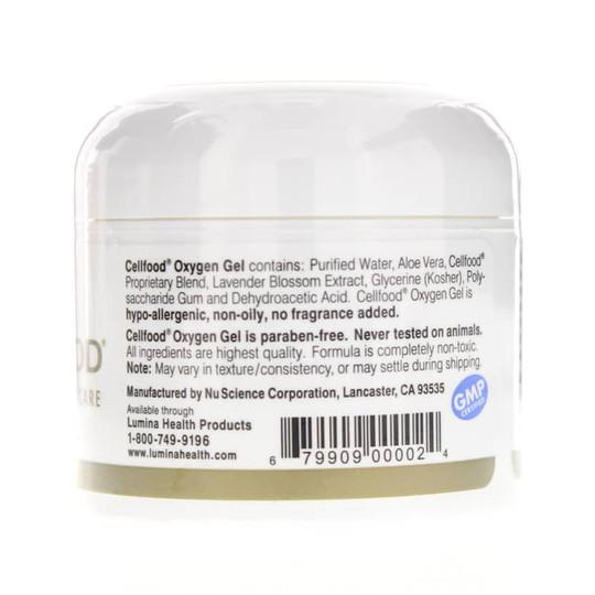 Cellfood Oxygenating Skin Care Oxygen Gel