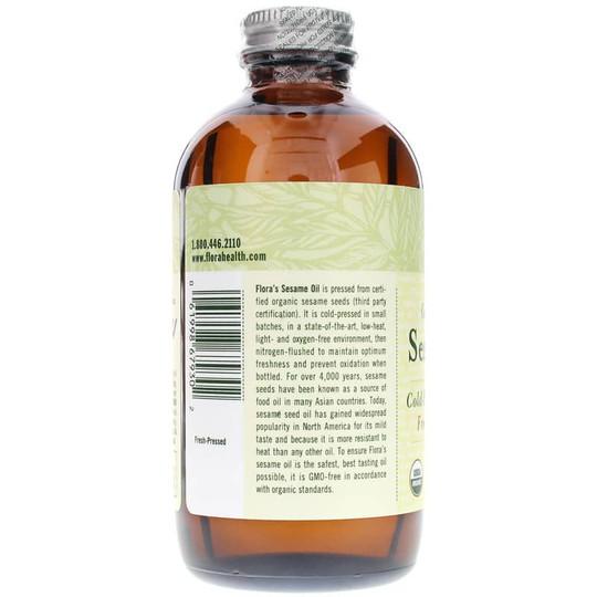 Certified Organic Sesame Oil