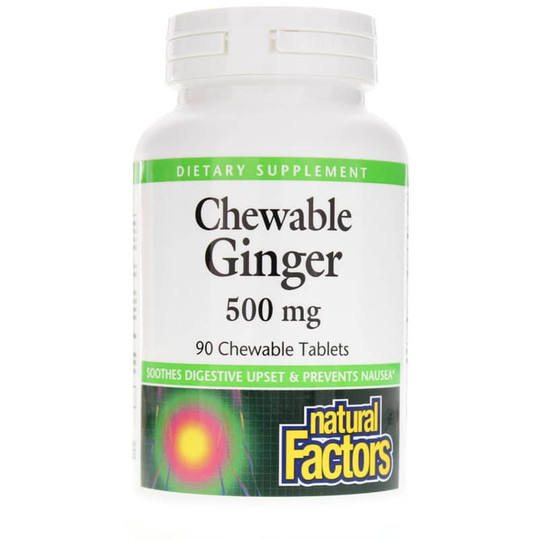 Chewable Ginger 500 Mg