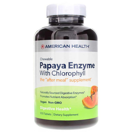 chewable-papaya-enzyme-chlorophyll-AH-600-chw-tblts