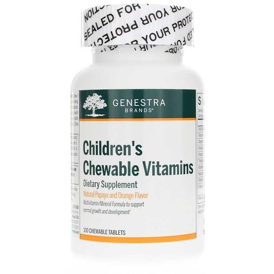 Children's Chewable Vitamins Papaya & Orange Flavor
