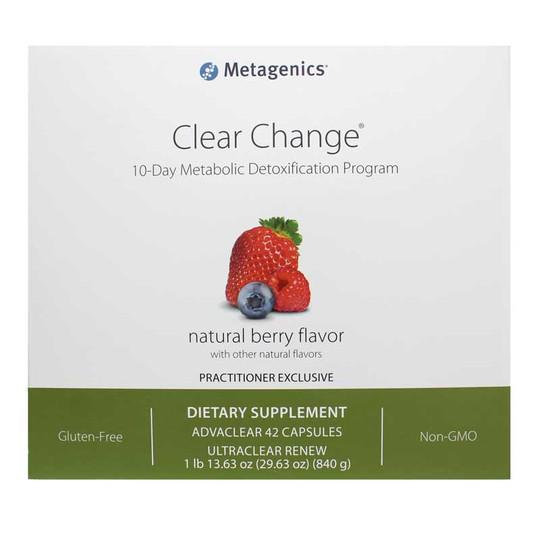 Clear Change 10-Day Metabolic Detoxification Program
