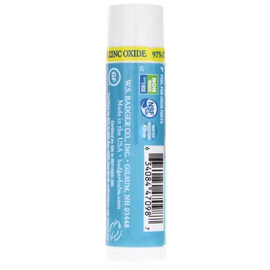 Clear Zinc SPF 15 Lip Balm Unscented