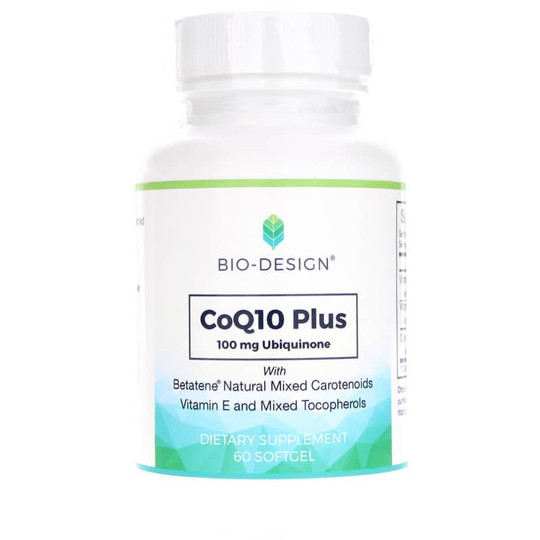 Co Q10 Plus 100 Mg with Vitamins E and A