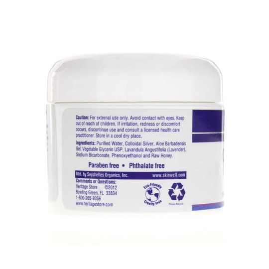 Colloidal Silver Salve Soothing Skin Care