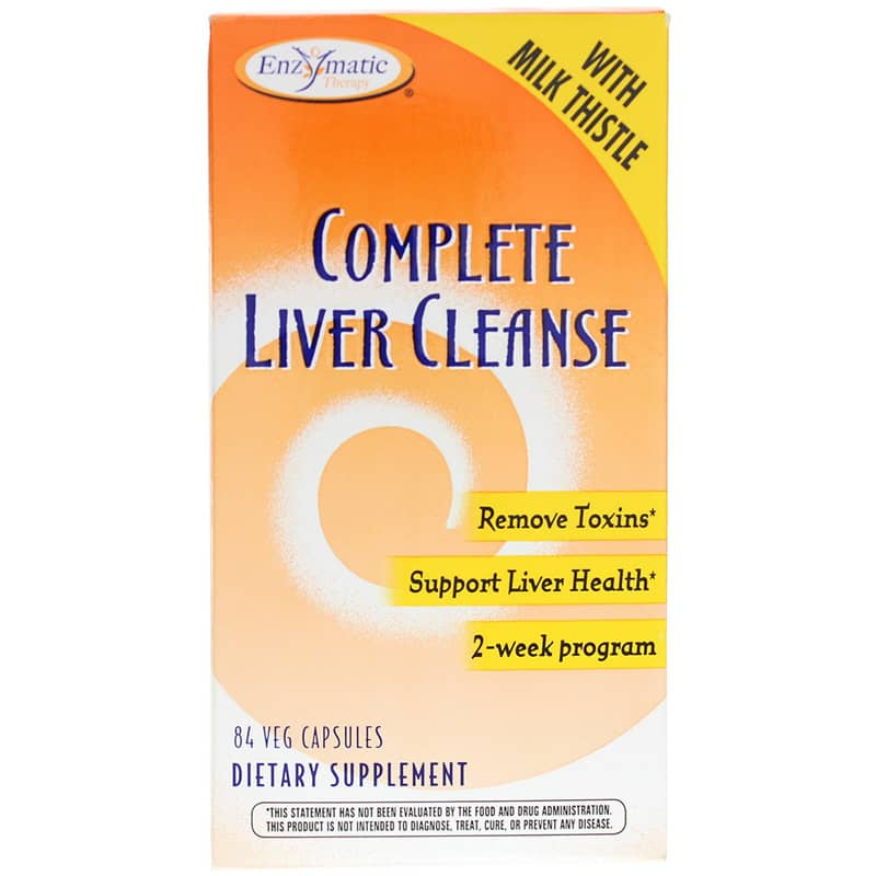 Complete Liver Cleanse Enzymatic Therapy