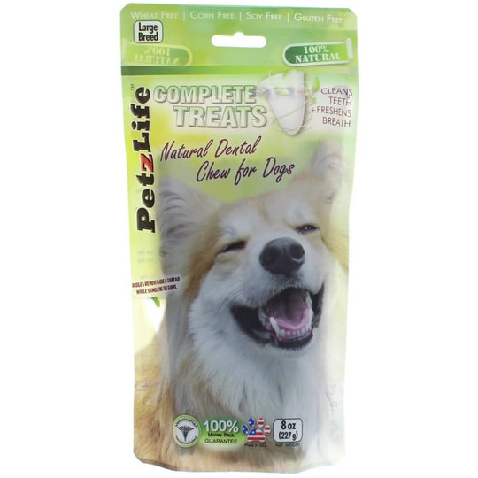 Complete Treats Natural Dental Chew for Large Breed Dogs