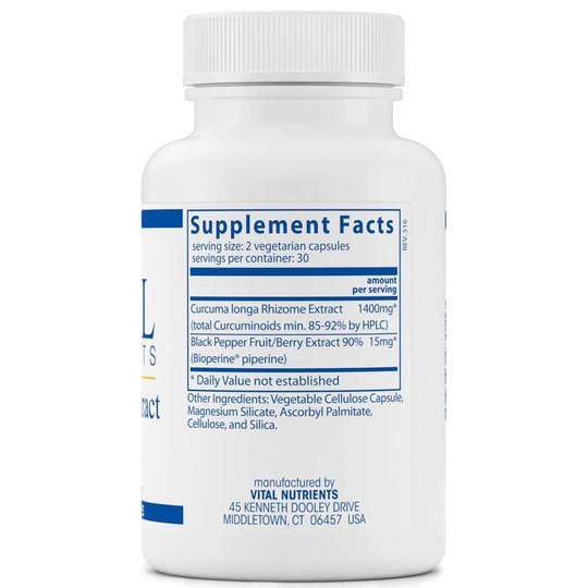 Curcumin Extract 700 Mg with Bioperine