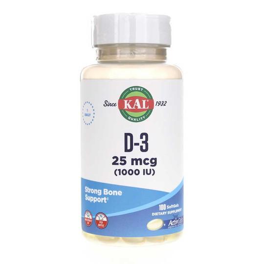 D-3 25 Mcg (1000 IU) ActivGels