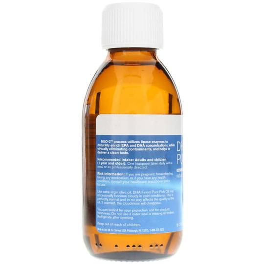 DHA Finest Pure Fish Oil Orange Flavor
