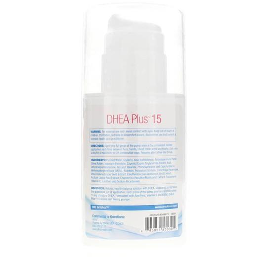 DHEA Plus 15 Cream