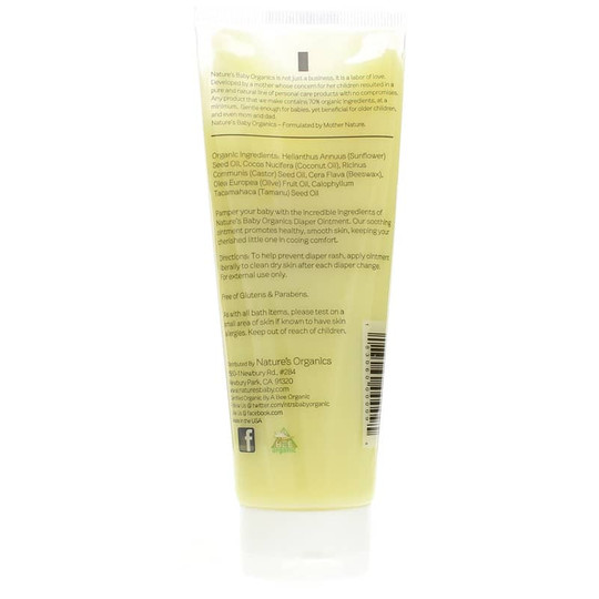Diaper Ointment Fragrance Free Sensitive