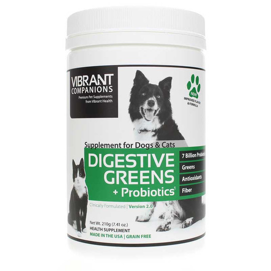 Digestive Greens for Dogs & Cats