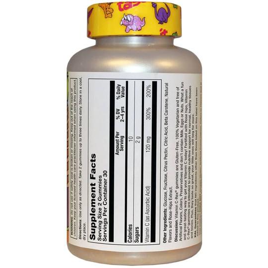 dinosaurs-vitamin-c-rex-120-mg-yummy-gummy-kids-KAL-orng