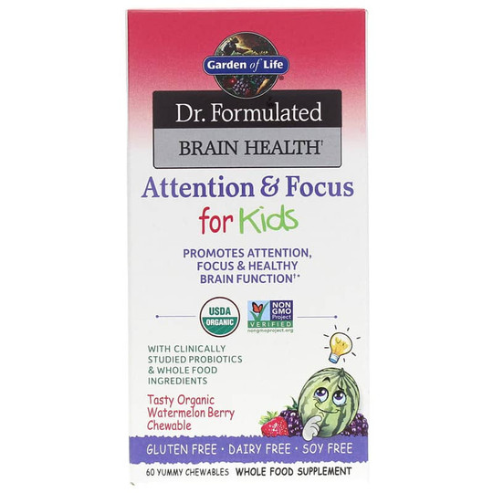 Dr. Formulated Brain Health Attention & Focus for Kids